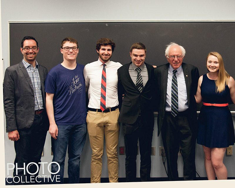 Bernie Sanders AU College Dems April-2015
