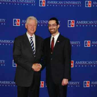 Kevin & Bill Clinton KPU February 2012