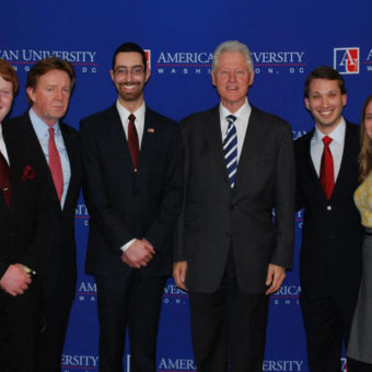 AUSG & Bill Clinton KPU February 2012