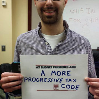 a more progressive tax code & Kevin